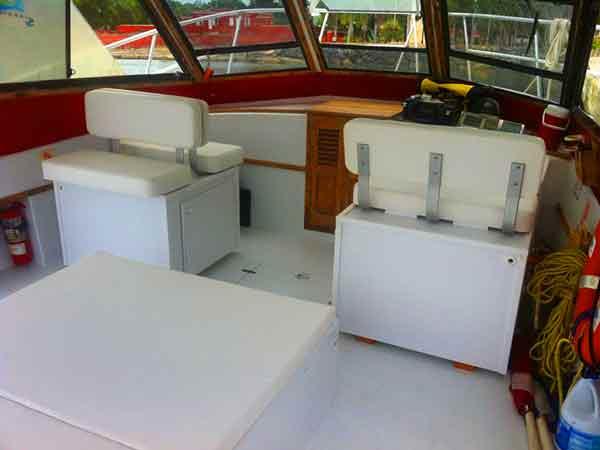 St Croix scuba dive boat Scuba Dos