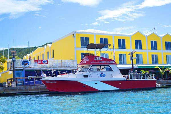 caravelle hotel st croix scuba virgin islands caribbean