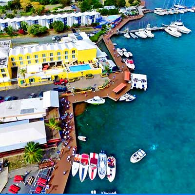 Duty free shopping in Christiansted and Frederiksted on St. Croix