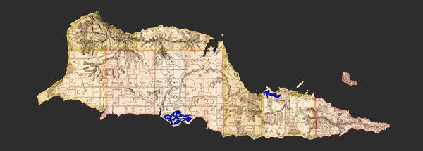 st croix scuba map of the caribbean island of st croix