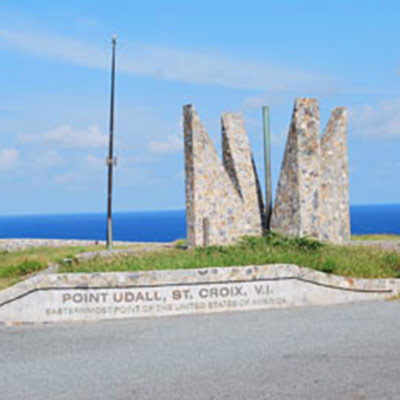Point Udall on St. Croix, U.S. Virgin Islands