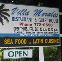Villa Morales restaurant st croix u.s. virgin islands